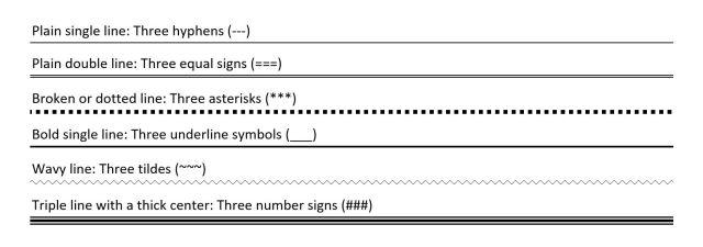 Mainai rimas paskambinti word how to make lines to write on