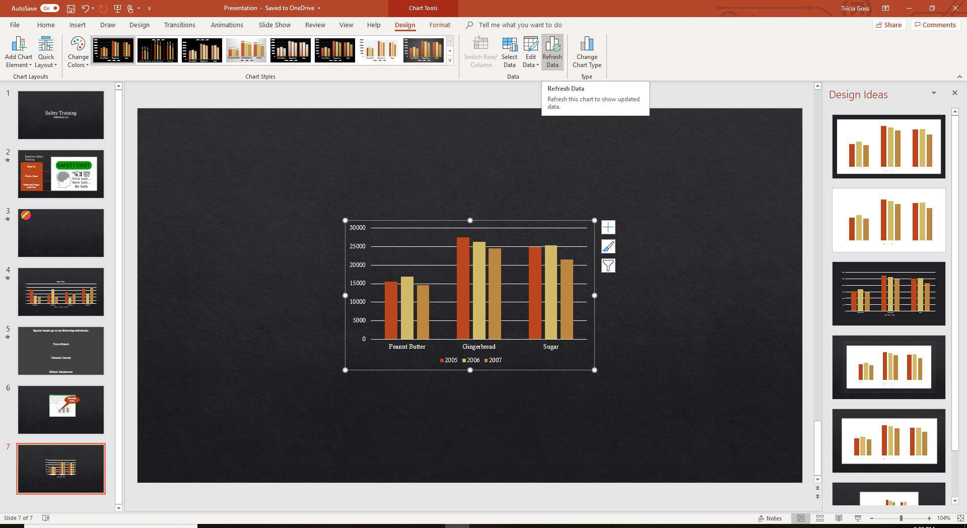 Add An Excel Chart To Your Powerpoint Presentation