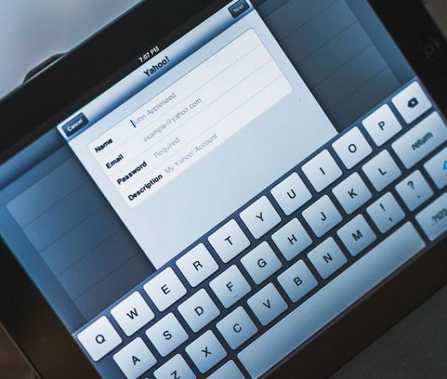 Setting Up Yahoo Mail On Apple Ipad