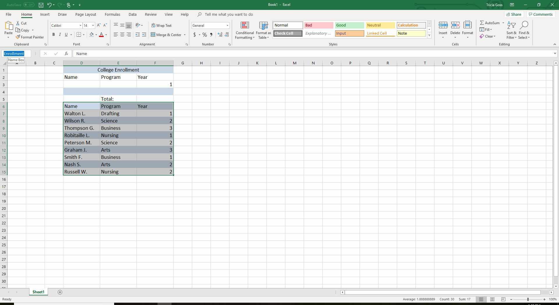 Excel Dcount Function Tutorial