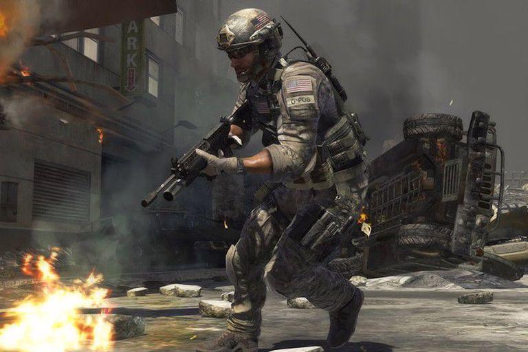 تحميل اللعبة القتاليه والحماسيه جدا Call Of Duty Modern