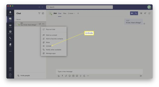 How To Delete Chat in Microsoft Teams