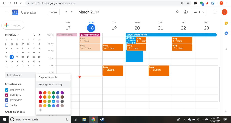 google calendar 이미지 검색결과