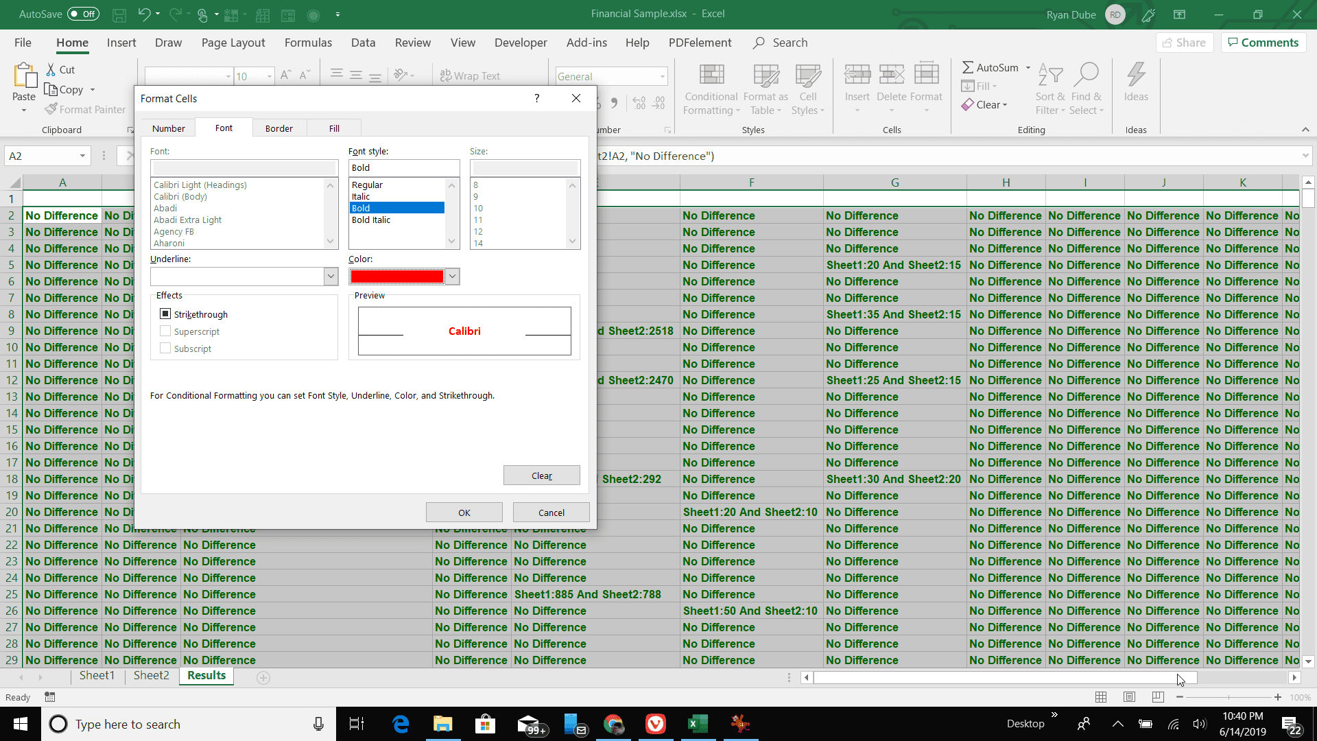 How To Compare Two Excel Files