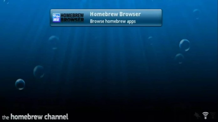 Select Homebrew Browser.