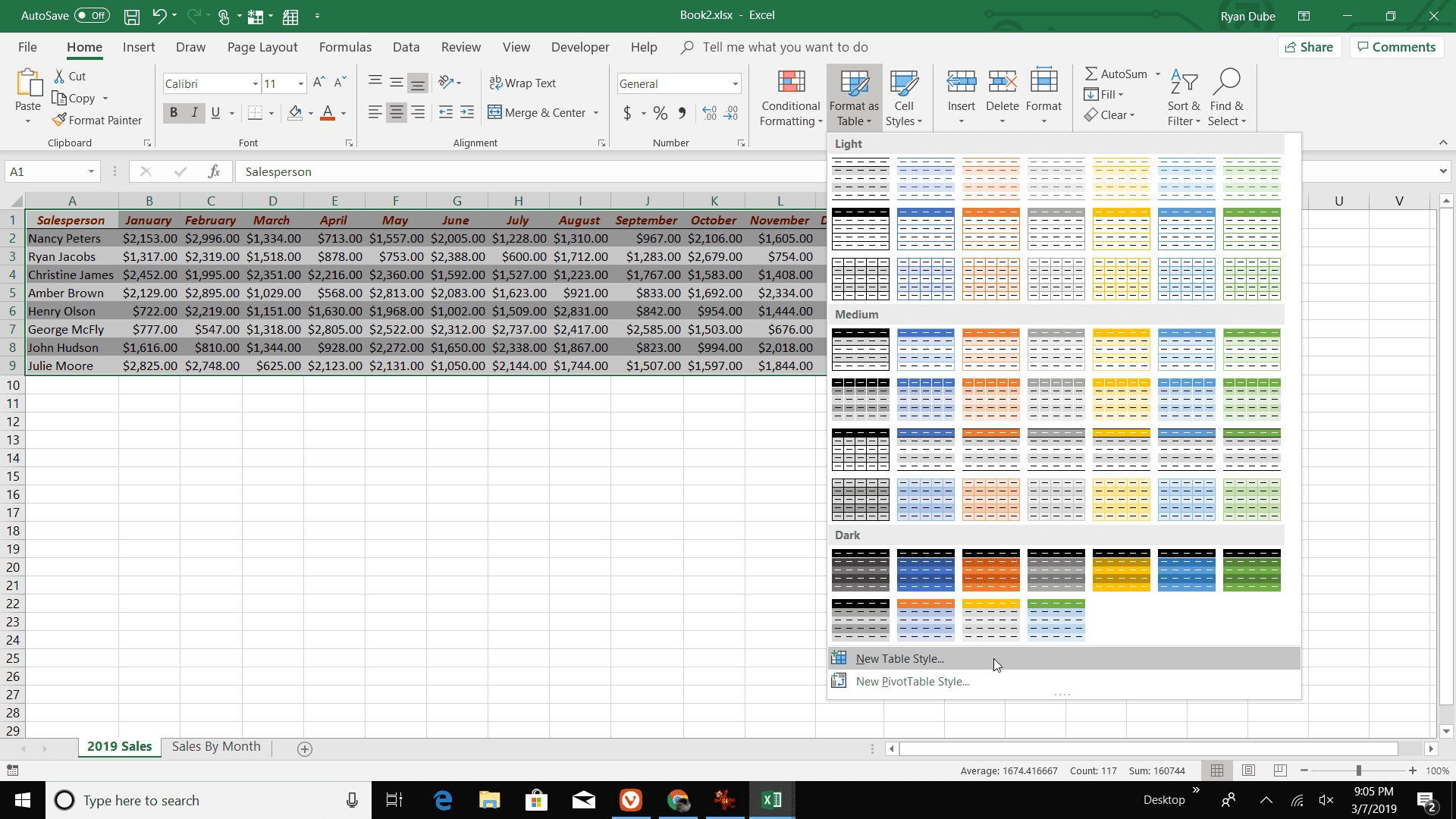 Using Excel S Autoformat Feature