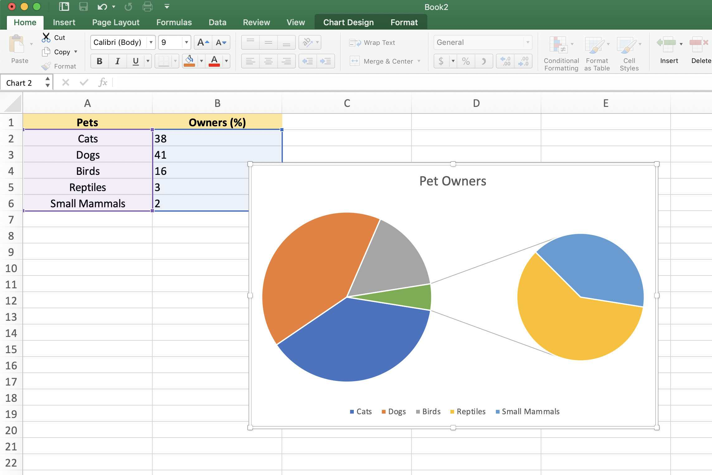How To Create Exploding Pie Charts In Excel
