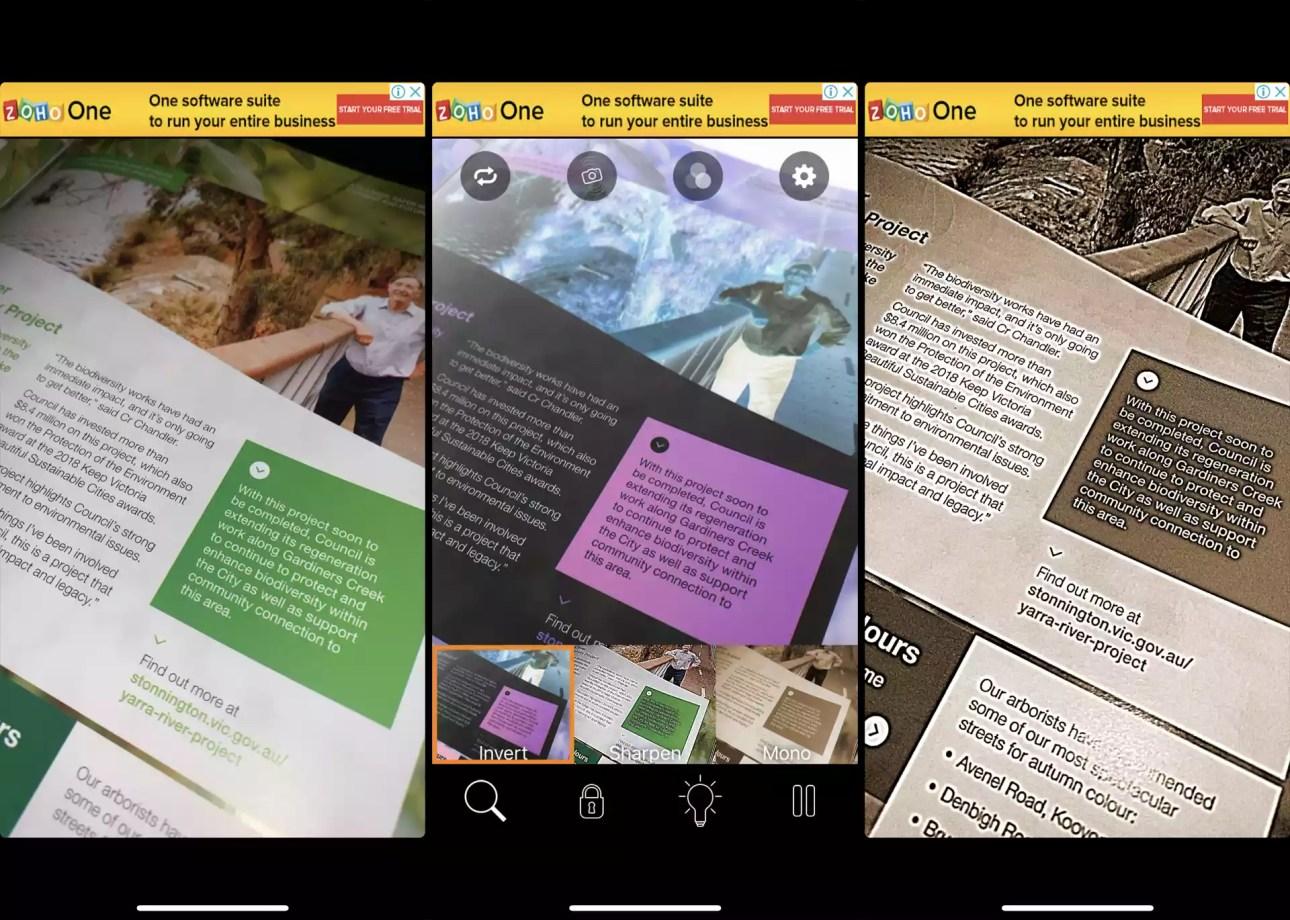 BigMagnify Бесплатное приложение для iPhone XS.