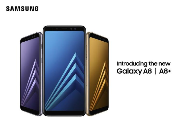 Samsung A Phones  What You Need To Know Samsung Galaxy A8 and A8  smartphones side by side in various colors