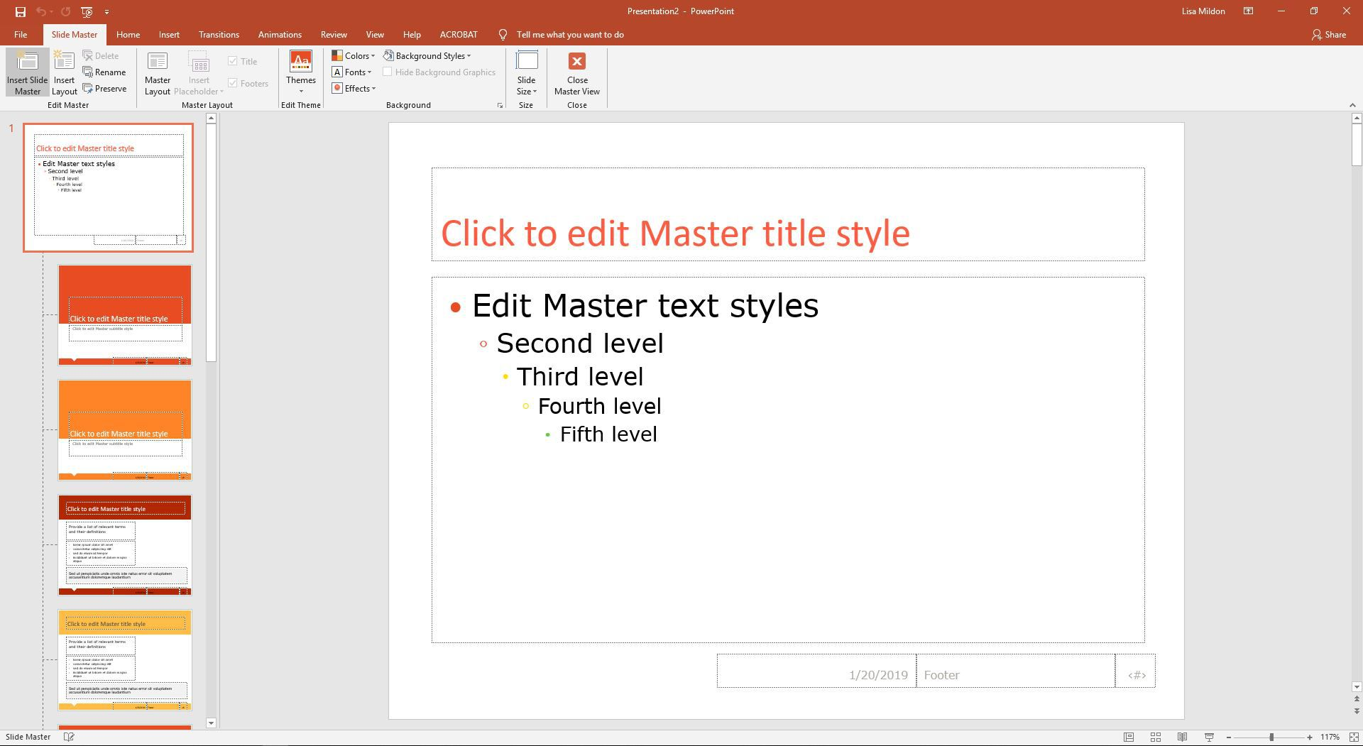 Change The Default Font In Powerpoint Text Boxes