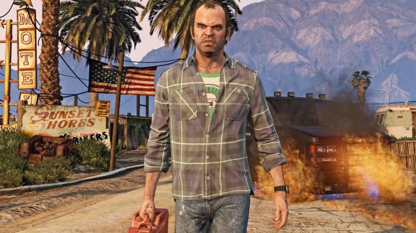 Grand Theft Auto V 4K Captura de tela