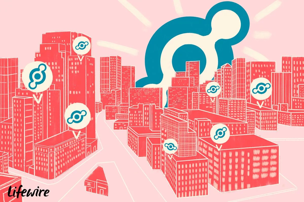 Helium logo superimposed over a cityscape - The Internet Tips