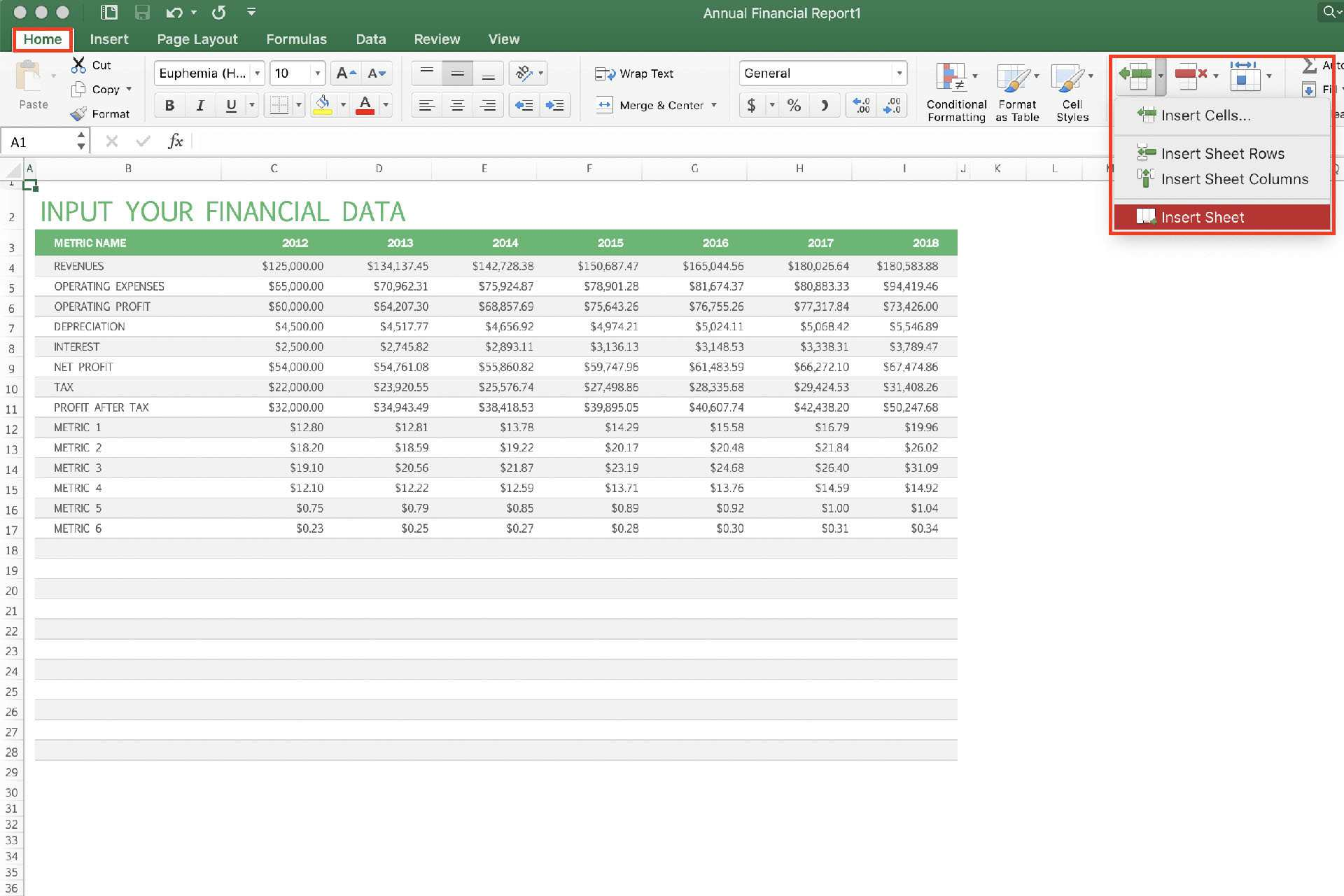 How To Use Excel Shortcuts To Add Worksheets