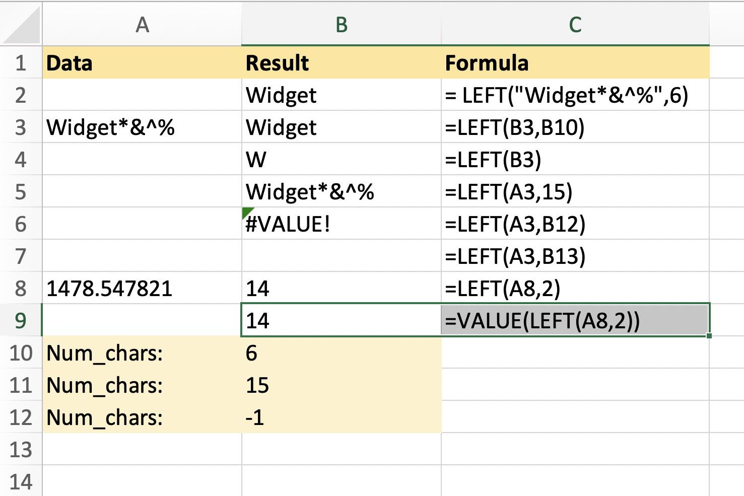 How To Extract Text With Excel S Left Leftb Function
