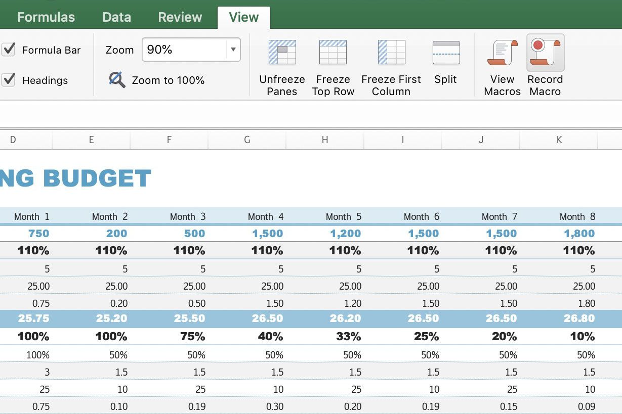 How Custom Excel Macros Can Streamline Your Workflow