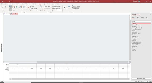 Microsoft Access GROUP BY Query