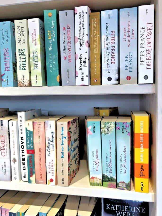 Momente des Glücks- in einem Buchladen zu stehn und diesen nur schön zu finden