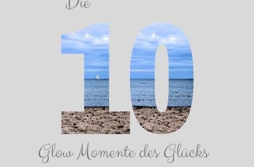 Life with a glow momente des glücks