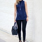 Blue & Black Stripes