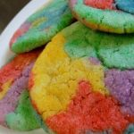 tie dye sugar cookies recipe