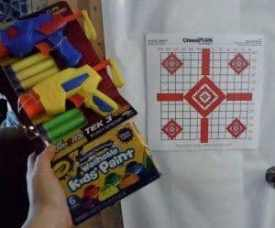 party games target praticce