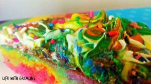 finger paint birthday cake recipe