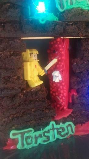 terraria cake party birthday