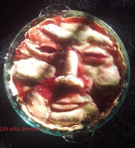 pie face Halloween desserts