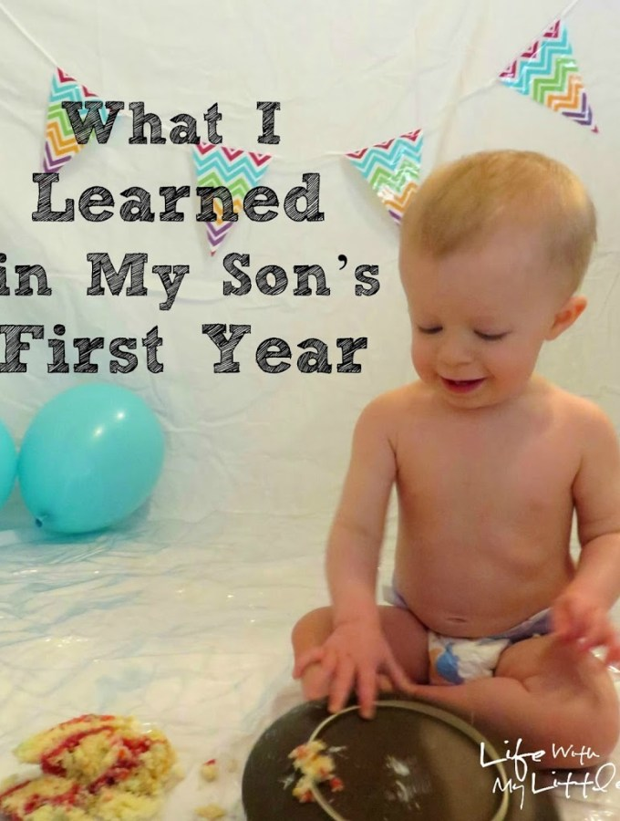 What I Learned in My Son's First Year