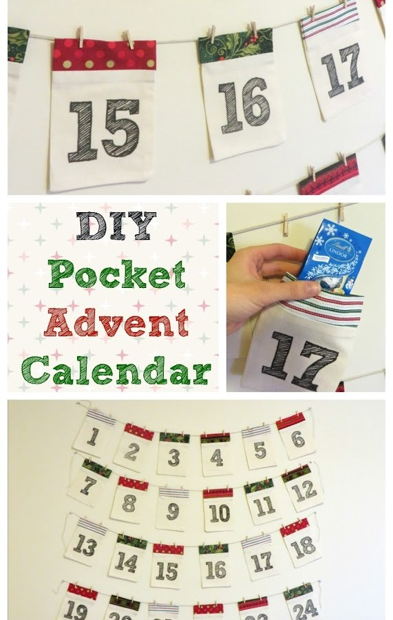 DIY Pocket Advent Calendar