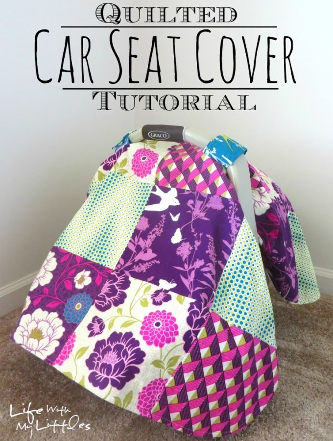 Quilted Car Seat Cover Tutorial