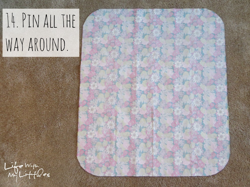 Quilted Car Seat Cover Tutorial - Life With My Littles
