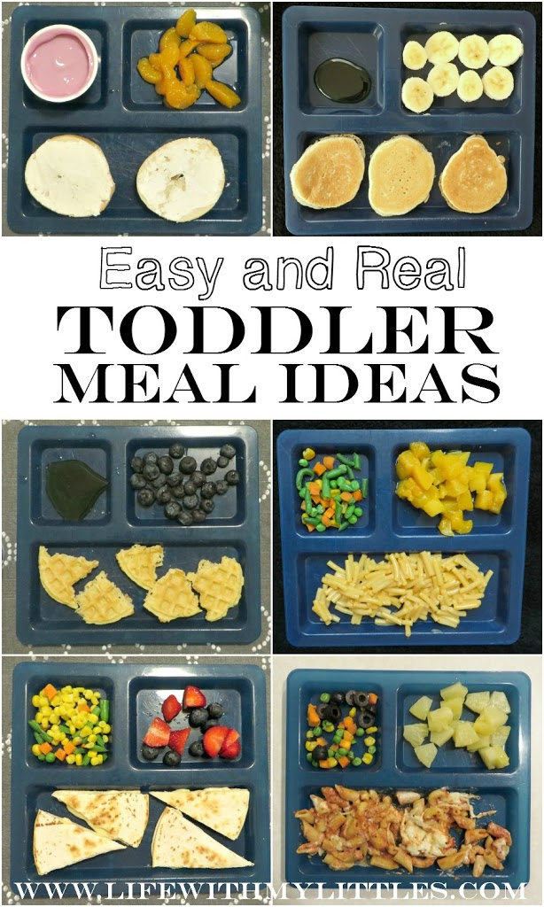 easy and real toddler meal ideas life with my littles