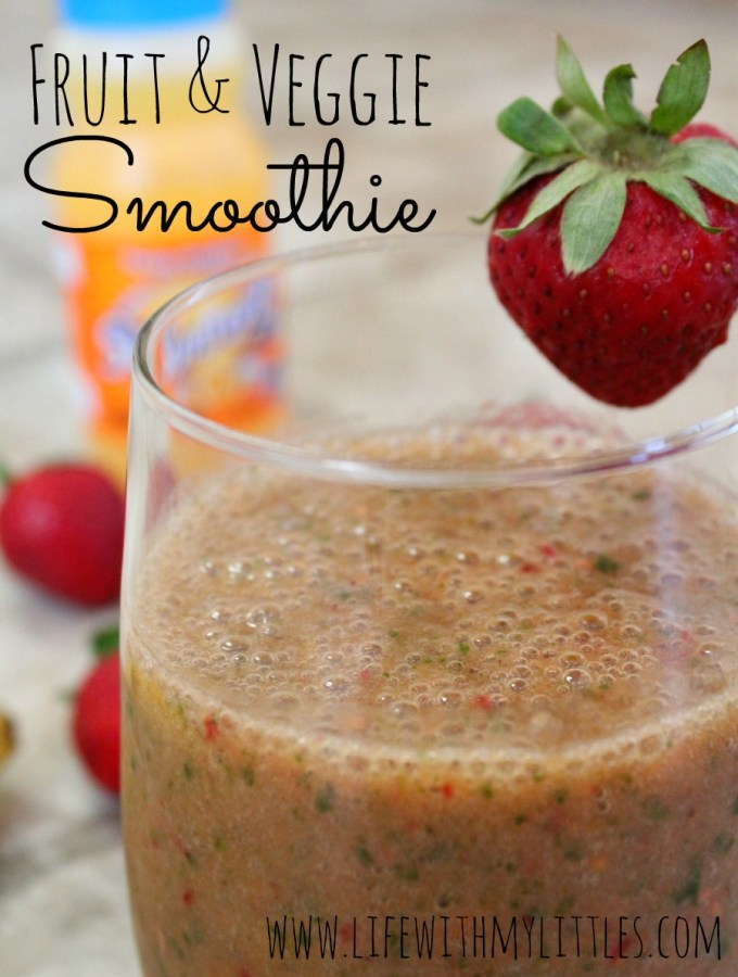 Delicious Fruit and Veggie Smoothie