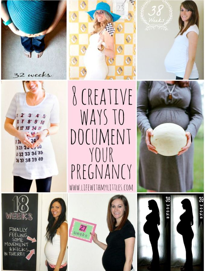 8 Ways to Document Your Pregnancy
