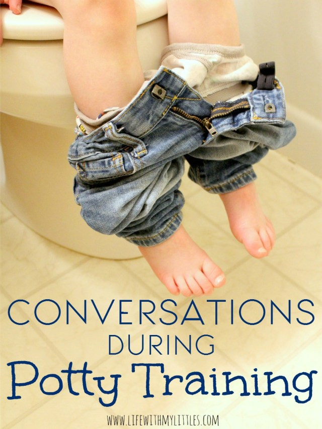 """You'd be surprised how """"dirty"""" conversations become when you are potty training your toddler. Here are a few examples."""