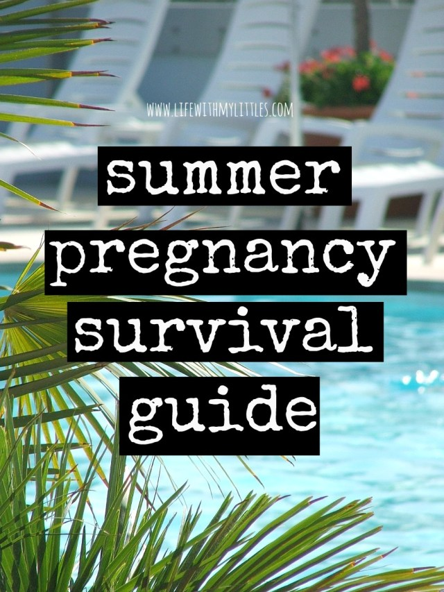 This helpful post is full of tips for surviving a summer pregnancy. If you're wondering how to make it through the summer when you're pregnant, this summer pregnancy survival guide will help!