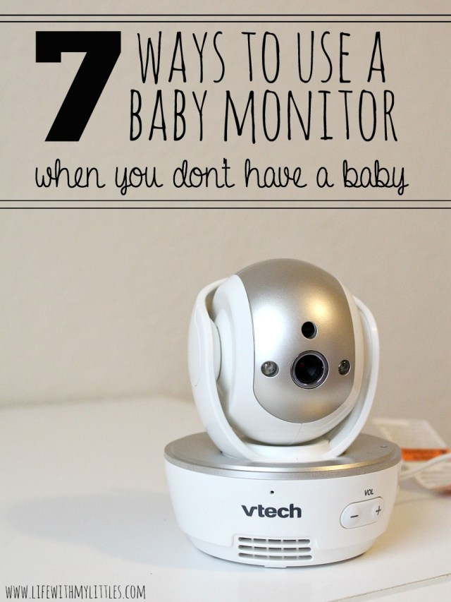 Not sure what to do with your baby monitor now that you don't have a baby? Here are 7 great ways to use a baby monitor as your kids grow up. These are so clever!
