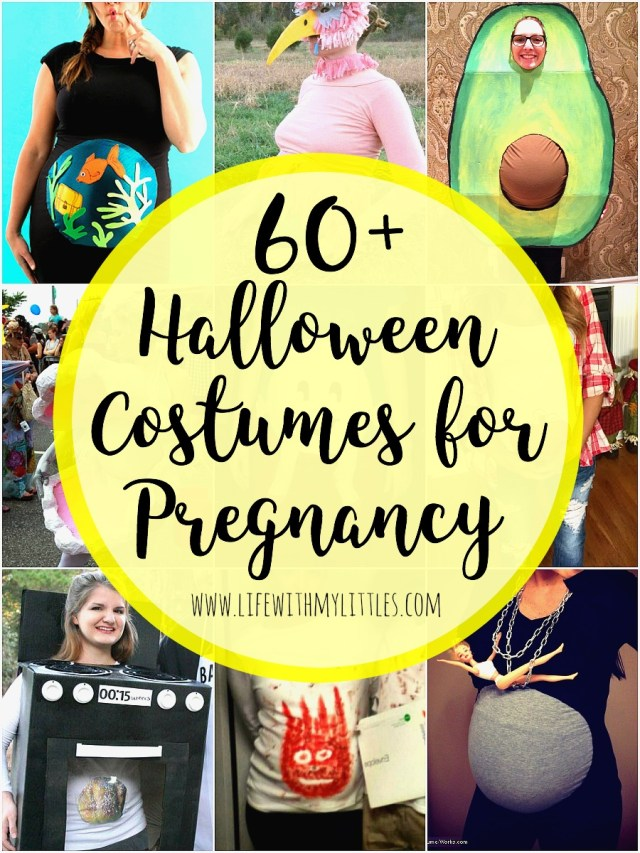 70798dbfa651e 60+ Halloween Costumes for Pregnancy - Life With My Littles