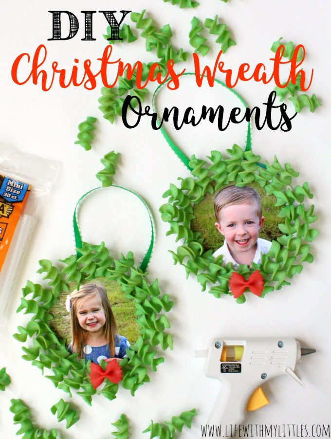 DIY Christmas Wreath Ornament