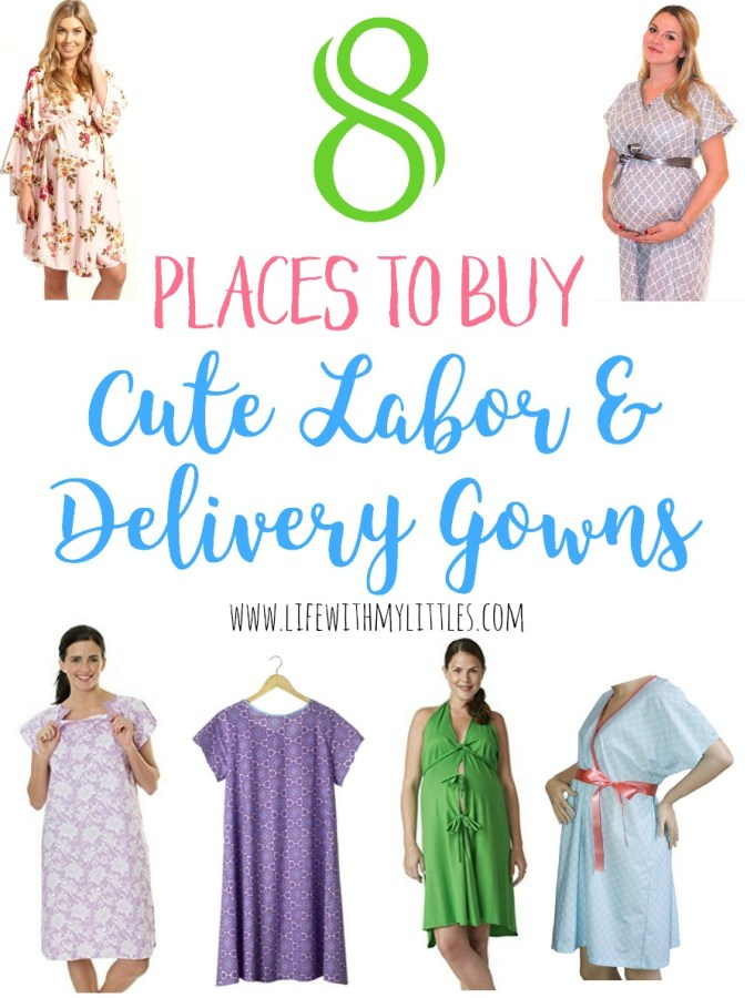 8 Places to Buy Cute Labor and Delivery Gowns