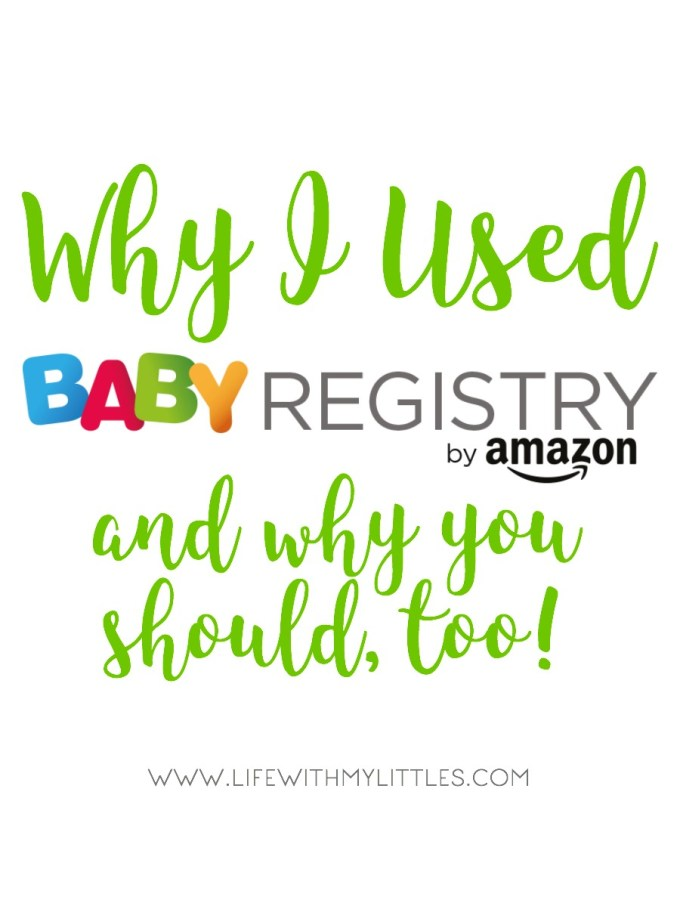 Why I Used Amazon Baby Registry