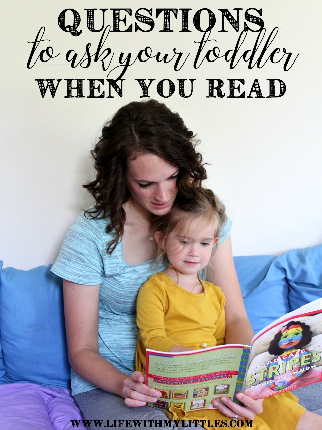 Questions to Ask Your Toddler When You Read