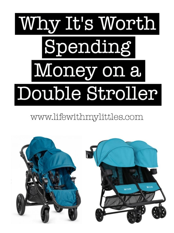 It can be hard to justify spending money on a good double stroller. Here's why it's worth it, why you won't regret it, and why you should go for it!