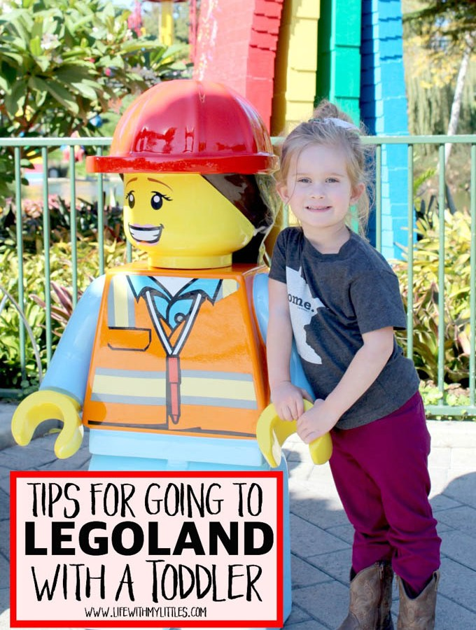Tips for Going to LEGOLAND with a Toddler