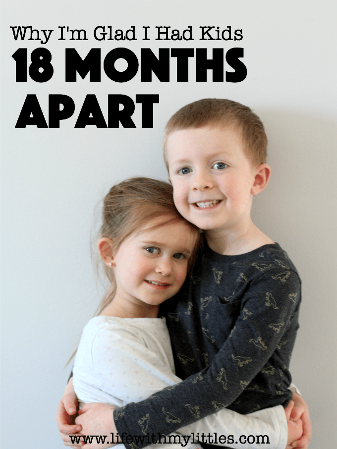 When you find out you're having kids 18 months apart it can be a bit scary! But here are a few reasons why I love having kids 18 months apart!