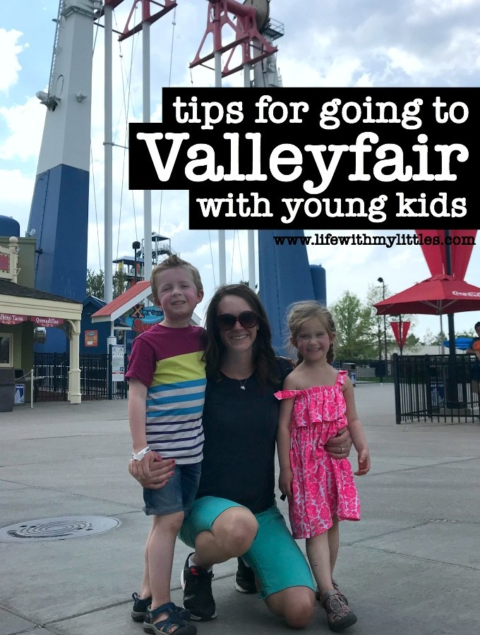 Tips for Going to Valleyfair with Young Kids