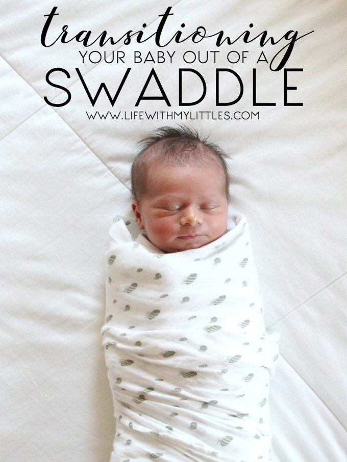Transitioning your baby out of a swaddle blanket doesn't have to be intimidating! Here's a step-by-step method for getting rid of the swaddle.