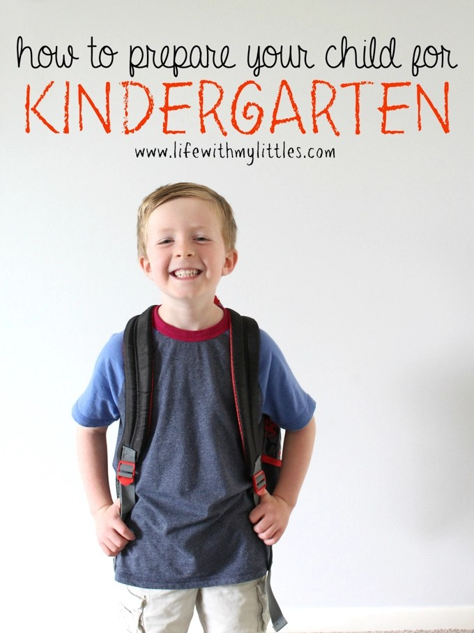 There's more to getting ready for kindergarten than just going school shopping! If you're wondering how to prepare your child for kindergarten, here are 8 things you can do to make the first days of school easier!