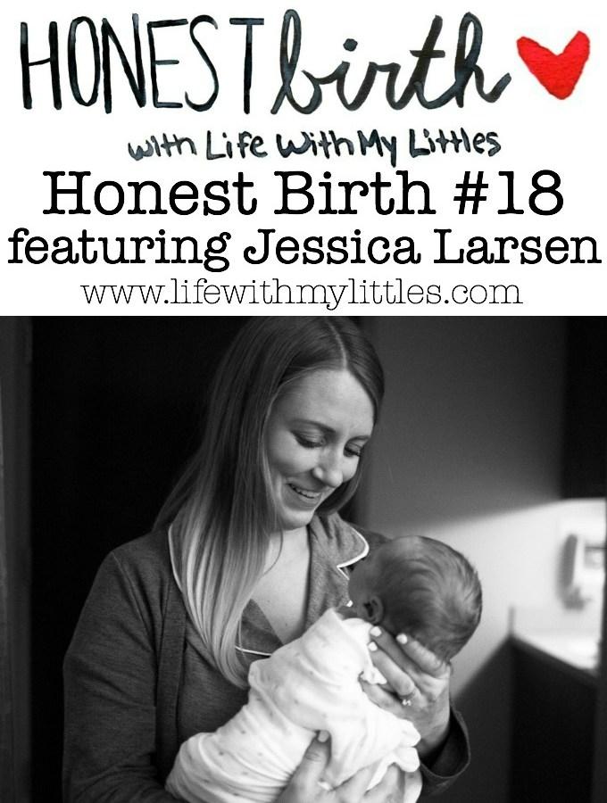 Honest Birth #18 featuring Jessica Larsen